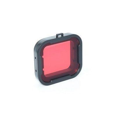 Színszűrő lencse SJCAM SJ6 kamerához (kameraházra) - piros