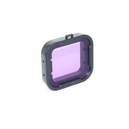 Color filter lens for SJCAM SJ7 camera (camera housing) - pink