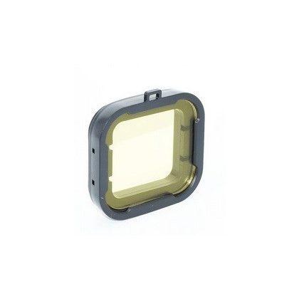 Color filter lens for SJCAM SJ7 camera (camera housing) - yellow