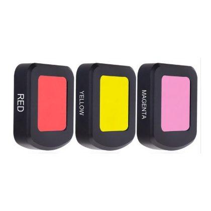 Color filter lens for SJCAM SJ8 (for camera housing) - yellow