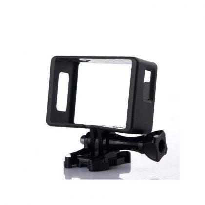Plastic mounting frame for SJ4000 type sports cameras SJ-KER4