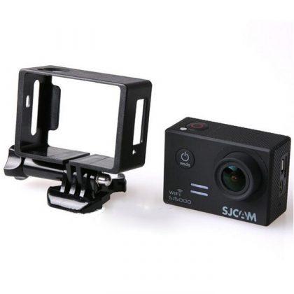 Plastic mounting frame for SJ5000 sports cameras SJ-KER5