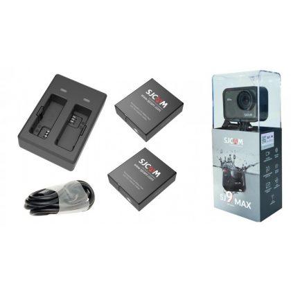 """SJCAM SJ9 Max sportkamera """"Power szett"""""""