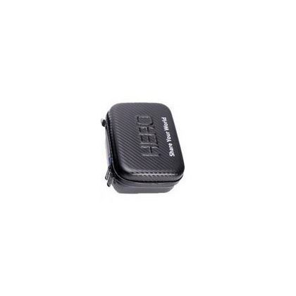 "Carbon effect camera case with ""HERO"" inscription, small size SJGP-231"