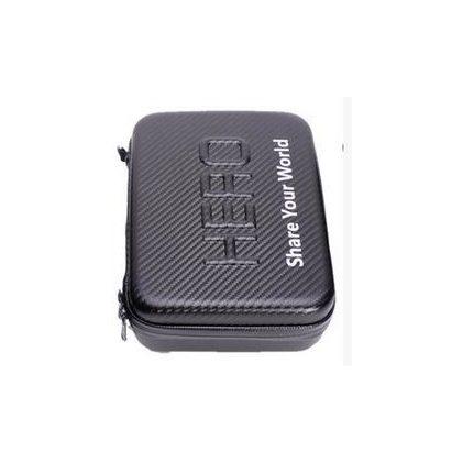 "Carbon effect camera case with ""HERO"" inscription, medium size SJGP-232"