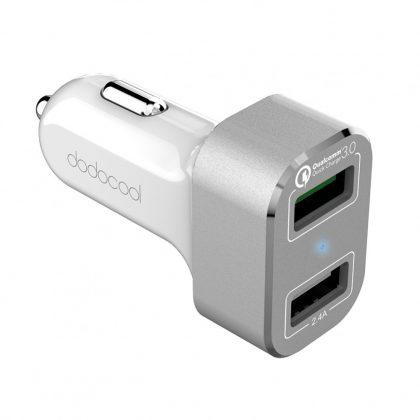 Dodocool DA114WS USB szivargyújtós töltő