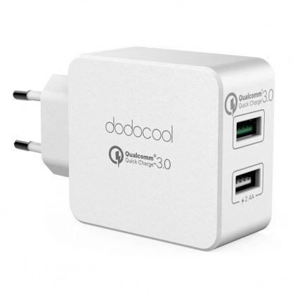 Dodocool DC67WEU tápegység duál USB fali tápegység
