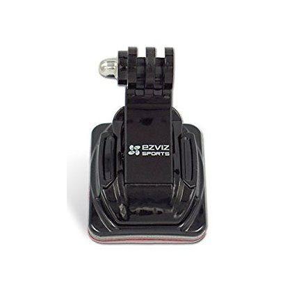 EZVIZ CS-S1-AM sisakrögzítő szett (1 db J-hook, 2 db ragasztós talp) - hajlított