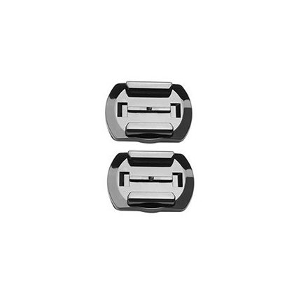 SJCAM helmet mounting bracket set (with 1 straight and 1 curved base sticker) - with curved shape