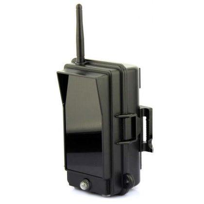 Additional infrared illuminator for wildlife camera
