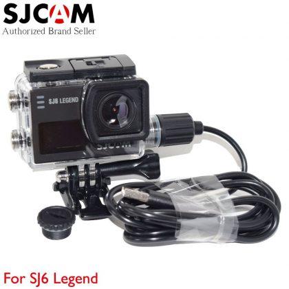 SJ-MT6 motoros tok SJ6 sportkamerához (vízálló tápkivezetési lehetőség) -  USB felülettel