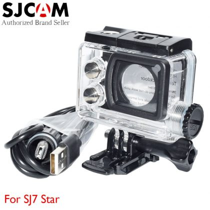 SJ-MT7 motor case for SJ7 Star sports camera (waterproof power outlet) - with USB interface