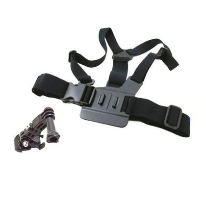 Chest strap with mounting bracket for sports camera sjgp-28