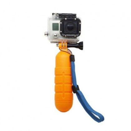 Floating buoy for sports camera with embossed surface sjgp-70