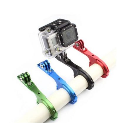 Universal metal bicycle steering console with extended saddle for sports camera sjgp-71